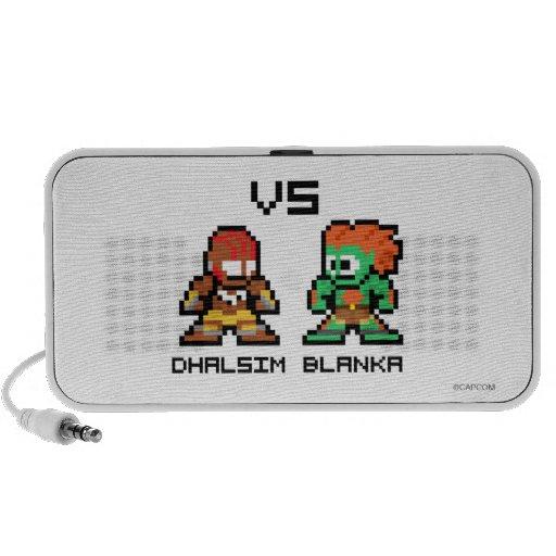 8bit Dhalsim VS Blanka Portable Speaker