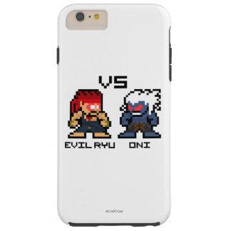 8bit Evil Ryu VS Oni Tough iPhone 6 Plus Case