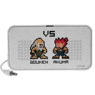 8bit Gouken VS Akuma Speaker