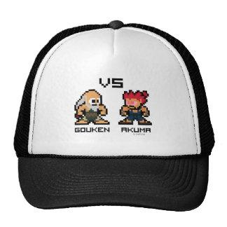 8bit Gouken VS Akuma Trucker Hat