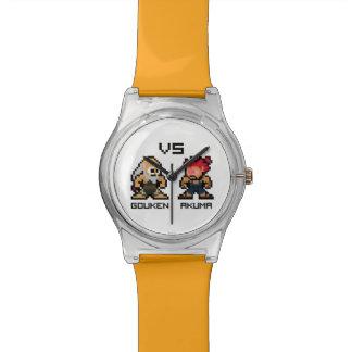 8bit Gouken VS Akuma Wrist Watches