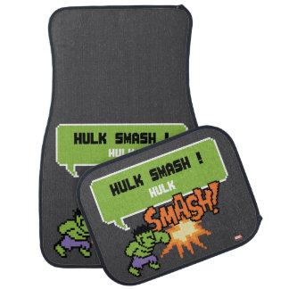 8Bit Hulk Attack - Hulk Smash! Car Floor Mat