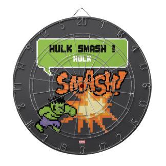 8Bit Hulk Attack - Hulk Smash! Dart Boards