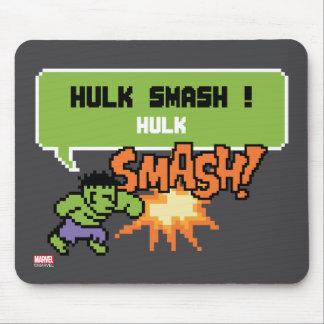 8Bit Hulk Attack - Hulk Smash! Mouse Pad