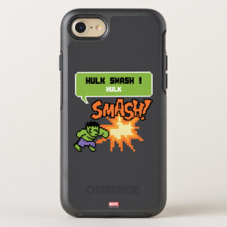 8Bit Hulk Attack - Hulk Smash! OtterBox Symmetry iPhone 7 Case