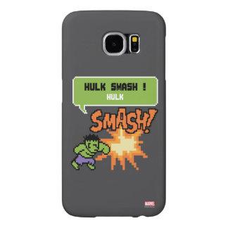 8Bit Hulk Attack - Hulk Smash! Samsung Galaxy S6 Case