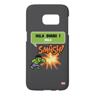 8Bit Hulk Attack - Hulk Smash! Samsung Galaxy S7 Case