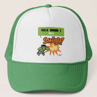8Bit Hulk Attack - Hulk Smash! Trucker Hat