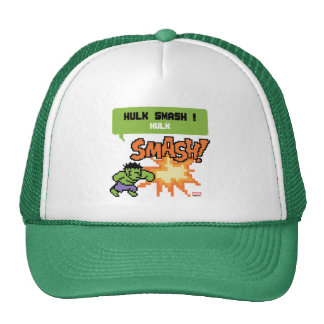 8Bit Hulk Attack - Hulk Smash! Trucker Hat