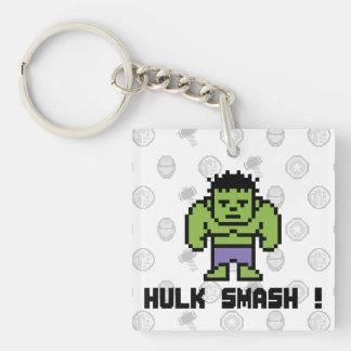 8Bit Hulk - Hulk Smash! Keychain