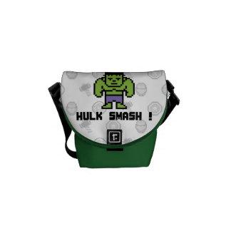 8Bit Hulk - Hulk Smash! Messenger Bag