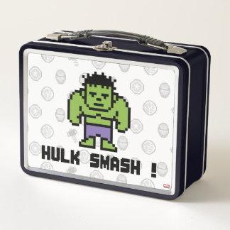 8Bit Hulk - Hulk Smash! Metal Lunch Box