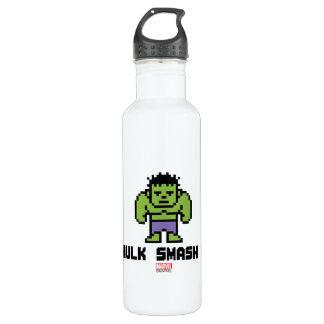 8Bit Hulk - Hulk Smash! Stainless Steel Water Bottle