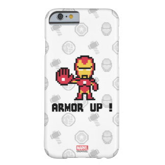 8Bit Iron Man - Armor Up! Barely There iPhone 6 Case
