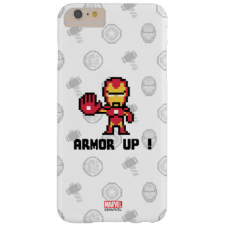 8Bit Iron Man - Armor Up! Barely There iPhone 6 Plus Case