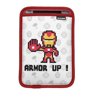 8Bit Iron Man - Armor Up! iPad Mini Sleeve