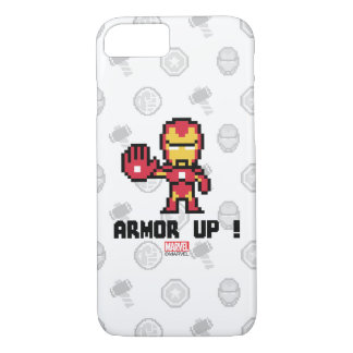 8Bit Iron Man - Armor Up! iPhone 7 Case