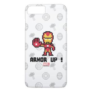 8Bit Iron Man - Armor Up! iPhone 7 Plus Case