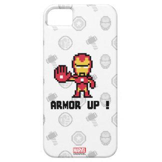 8Bit Iron Man - Armor Up! iPhone SE/5/5s Case