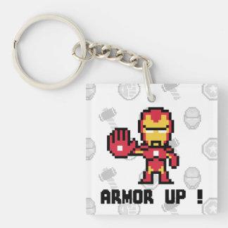 8Bit Iron Man - Armor Up! Keychain