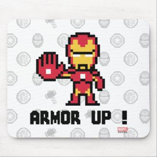 8Bit Iron Man - Armor Up! Mouse Pad