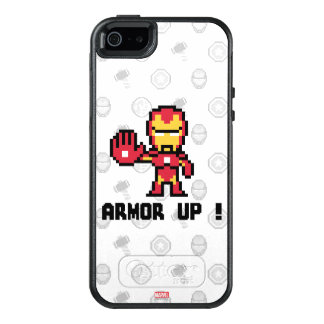 8Bit Iron Man - Armor Up! OtterBox iPhone 5/5s/SE Case