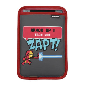 8Bit Iron Man Attack - Armor Up! iPad Mini Sleeve