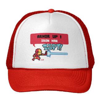 8Bit Iron Man Attack - Armor Up! Trucker Hat