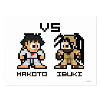 8bit Makoto CONTRA Ibuki Postal