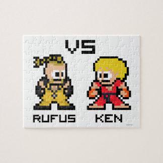 8bit Rufus VS Ken Jigsaw Puzzle