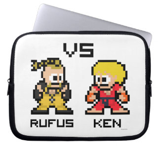 8bit Rufus VS Ken Laptop Computer Sleeve