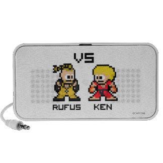 8bit Rufus VS Ken Mp3 Speaker