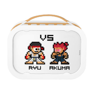 8bit Ryu CONTRA Akuma