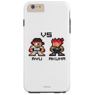 8bit Ryu CONTRA Akuma Funda De iPhone 6 Plus Tough