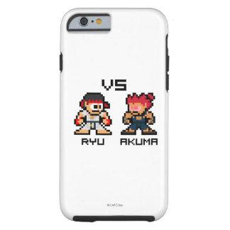 8bit Ryu CONTRA Akuma Funda Para iPhone 6 Tough