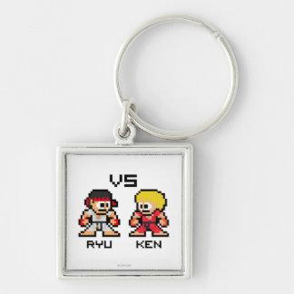 8bit Ryu CONTRA Ken Llavero