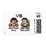 8bit Ryu CONTRA Sakura Envio