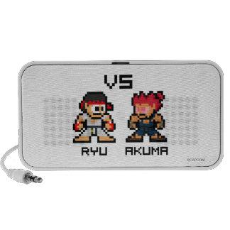 8bit Ryu VS Akuma Laptop Speakers