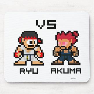 8bit Ryu VS Akuma Mouse Pad