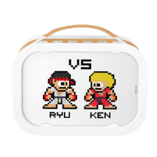 8bit Ryu VS Ken Lunch Box
