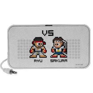 8bit Ryu VS Sakura Travelling Speaker