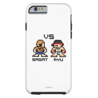 8bit Sagat CONTRA Ryu Funda De iPhone 6 Tough