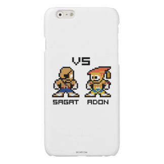 8bit Sagat VS Adon Glossy iPhone 6 Case