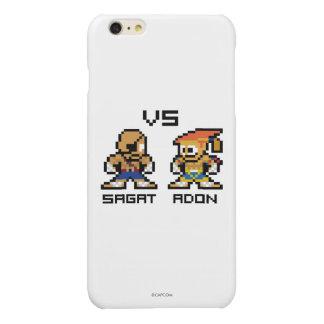 8bit Sagat VS Adon Glossy iPhone 6 Plus Case