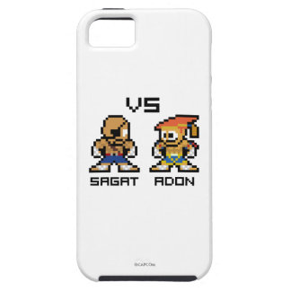 8bit Sagat VS Adon iPhone SE/5/5s Case