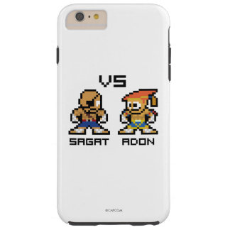 8bit Sagat VS Adon Tough iPhone 6 Plus Case