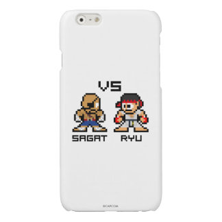 8bit Sagat VS Ryu Glossy iPhone 6 Case