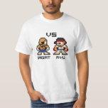 8bit Sagat VS Ryu T Shirt