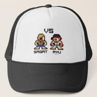 8bit Sagat VS Ryu Trucker Hat