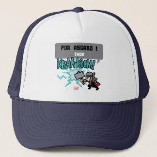 8Bit Thor Attack - For Asgard! Trucker Hat
